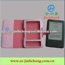 Fashionable Leather Case for Amazon Ebook Kindle 3 Touch