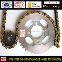 Custom Motorcycle Part Motorcycle Chain Sprocket Kit, Motorcycle Sprocket And Chain In China