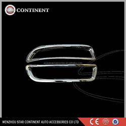 Car exterior accessories ABS chrome body part tail Fog light cover for LUXGEN