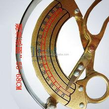 55 - 68 cm circunferência Cap chapéu de bronze sob medida ferramenta de dimensionamento ferramenta de costura régua alfaiate curva governante