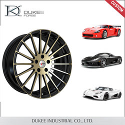Custom made forged high quality replica alloy wheels 4x100
