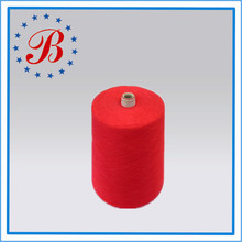 30 Ne/1 Ramie/Cotton Blended Yarn 20%/80% for Knitting and Weaving
