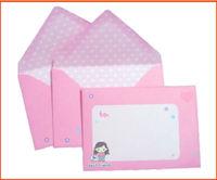 C6 greeting card printing envelope