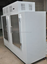 1000L refrigerated bagged ice storage bin/ solar power optional