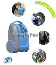 2014 concentrador de oxígeno portátil