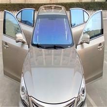 Car windshield sun shade chemoleon front screen window tint film