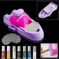 portable nail art printing machine for salon