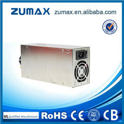 ZUMAX 700 Active PFC 700W 2U Industrial DIN Rail switch power supply