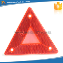 E-Mark Approval Safety Warning Triangle Reflector