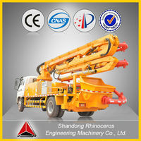 China XND5161-25H 25m small trailer concrete pump for sales in Alibaba with best quality