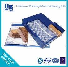 Household items plastic storage packaging tray with changeable interspace