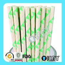Latest Decorative Craft Pennant Paper Straws