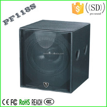 18 inch pro audio speakers subwoofer