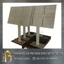 custom manufacture floor standing powder coat rack fabricated service by china supplier