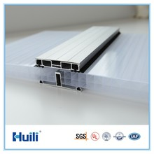 32mm Polycarbonate Sheet Hollow For Stadium Project Skylite Roofing PC Panel High Light Transmission Heat Insulation UV Coating