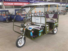 2015 high quality passenger tricycle for India market; 3 wheel electric scooter