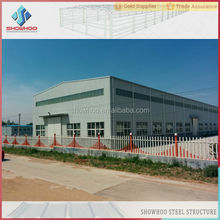 industrial building structural steel fabrication shed design