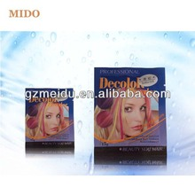 OEM welcomed hot sale 20 colors for choose temporary hair color powder
