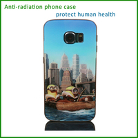 anti-radiation blank hard mobile phone cover