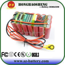 Brand battery cell 2250mah for 18650 7s3p 25.2 volt 6900mah lithium ion ebike battery 6.9ah
