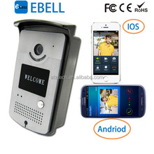 2015 ATZ 1.0Mega-Pixels Android Door Bell Wireless Speakers Video Door Phones With Receiver