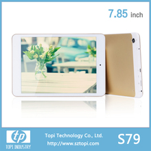 S79 7.85 inch WIFI Tablet PC external 3G and most classic tablet PC 7 inch with Dual Camerra big battery.