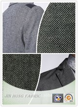 2015-2016 Hot Sale woven herringbone wool/polyester/acrylic/viscos blend suit fabric for fashion and formal wear