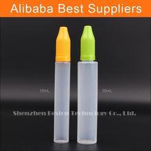 Wholesalers pe 30ml eliquild dropper bottle crystal pen