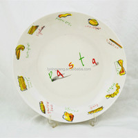 China Style Hollow Our Ceramic Fruit and Dessert Plate/Salad Bowl Tableware Dinner Plate Ceramic Bowl Soup Bowl Fruit Plate