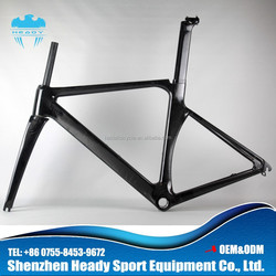 2014 New Model! Top quality chinese carbon road bike frame road bike carbon frame