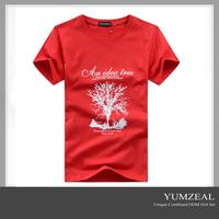 Cheap Cotton Tshirt/High Quality Custom Tshirt/Promotional Plain Tshirt