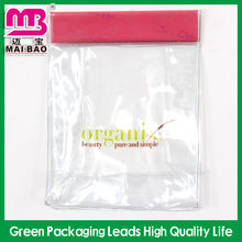 Wholesale custom high quality packaging fashion small zipper top clear waterproof mini transparent pvc cosmetic bag