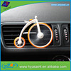 Hot sale custom bicycle shape car vent air freshener