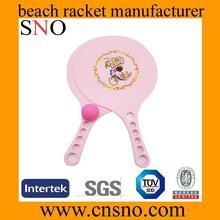 2pcs racket with 1 ball,beach tennis racket,new beach racket