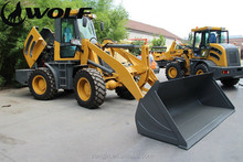 Long arm ZL28 wheel loader, dumping height 5.6meters for Canadian market