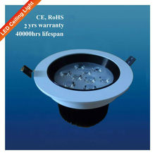 Cree High Luminous Recessed 12W Dimmable Led Downlight