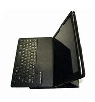 Wireless Bluetooth Keyboard Folio Leather Case for iPad Pro