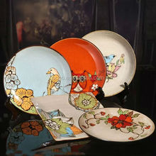 hot sale ceramic dinner plates customized