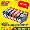 Zhuhai low MOQs compatible ink cartridge pgi-225 cli-226 for canon