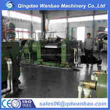 high quality of 2 rolls Rubber Refining Mixing Mill/Reclaimed Rubber Machine