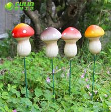 Garden Resin Mushroom Stake