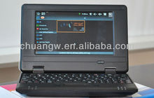 Free ship netbook 7 inch laptop computer VIA8880 Android 4.4 Wifi 512MB 4GB 1.5GHz Dual Core CPU Webcam