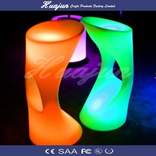 night club LED Acrylic Chair 38*40*82cm& led chairs with lighting