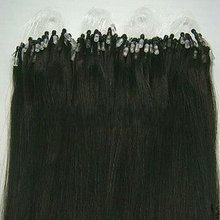 """100% Brazilian remy Micro-ring hair extensions 14""""-26"""""""