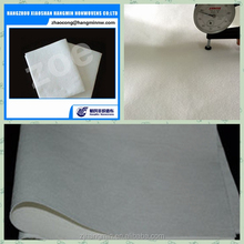 Shoe reinforcement polyester material of needle punched nonwoven fabric