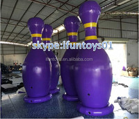 human giant bowling inflatable zorb ball / inflatable human bowling zorb ball / human bowling pin zorbing