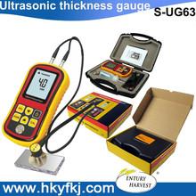 Auto calibración de espesor por ultrasonidos instrumentos de medición medidor de espesor ultrasónico S-UG63