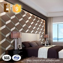Wholesale Decorative Modern Waterproof 3D Acoustic Diffuser Wall Panel for Bedroom