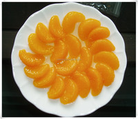 2015 new product canned mandarin orange in syrup 425g/800g/3000g