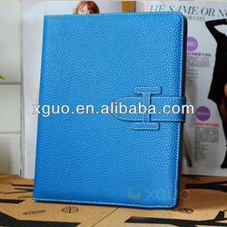 PU leather stand smart cover case for ipad 2 3